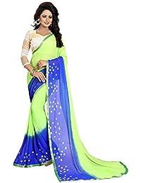 Vrati Fashion Women'sMULTI Colour Cotton Silk Saree With Unstiched Blouse Material …