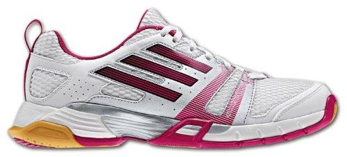 adidas, Scarpe da Basket donna WEIß/PINK/SCHW 4,5, (WEIß/PINK/SCHW), 7 (WEIß/PINK/SCHW)