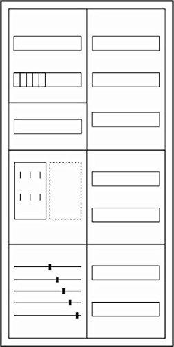 preisvergleich eaton 183243 z hler komplettschrank f r. Black Bedroom Furniture Sets. Home Design Ideas