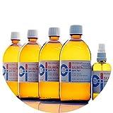PureSilverH2O 2100ml kolloidales Silber (4X 500ml/25ppm) + Spray (100ml/25ppm) Reinheit & Qualität seit 2012