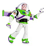 Disney Official Store Toy Story Buzz Lightyear Deluxe Talking Figure Toy Doll