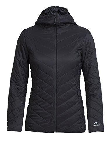 Icebreaker Hyperia Hooded Jacket Women - Kapuzenjacke black