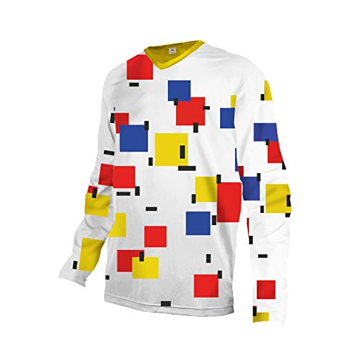 Uglyfrog Downhill Fahrradtrikot für Herren, atmungsaktiv, schnell trocknend, langärmlig, Jerseyshirt, lange Ärmel, DHX02 XXL Farbe 29