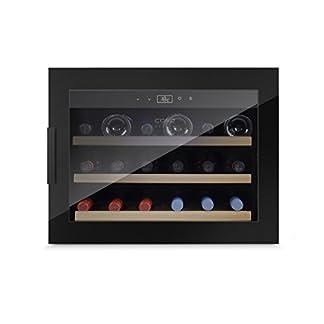 Caso-WineSafe-18-EB-Black-Design-Einbau-Weinkhlschrank-mit-Kompressionstechnik-fr-bis-zu-18-Flaschen-bis-zu-310-mm-Hhe-eine-Temperaturzone-5-20C-Getrnkekhlschrank