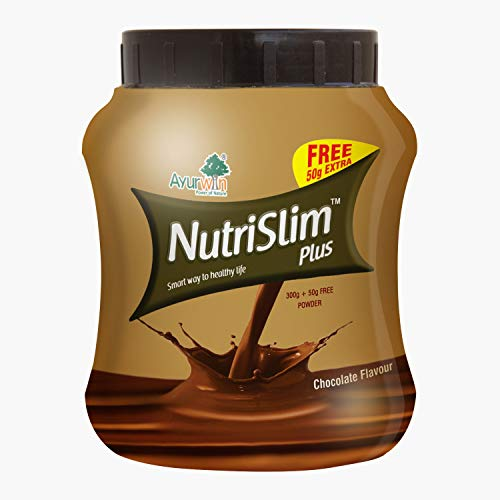 Nutrislim Combo of 300 Gm Powder & 40 Capsules (Chocolate Flavor)