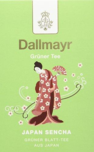 Dallmayr Grüner Tee – Japan Sencha, 8er Pack (8 x 100 g )