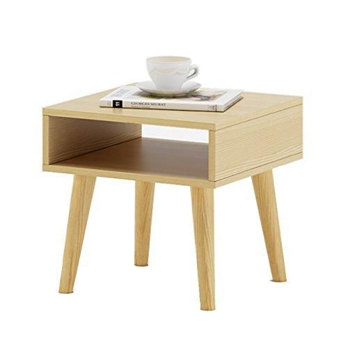Nubao comodino comodini armadi armadietti armadi angolari mobili tavolino da caffè (colore : natural color)