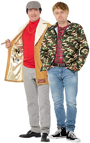 Paare Comedy Kostüm - Fancy Me Rodney Del Boy Trotter Best Man Hirsch Do Night Comedy TV-Kostüm, für Paare, für Herren