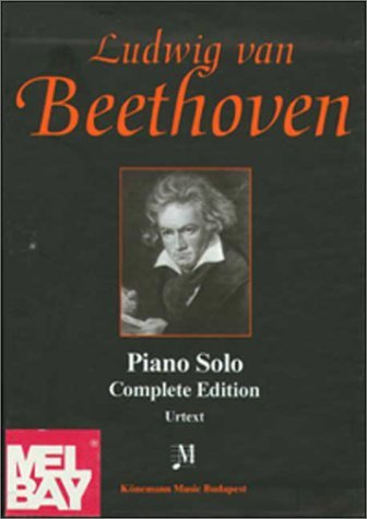 Beethoven, Piano Solo, Complete Edition: 4 Vol. Boxed Set by Ludwig Van Beethoven (1999-03-02)