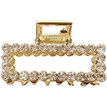 Alaso - Pasador de Pelo para Mujer, Perla y Diamante