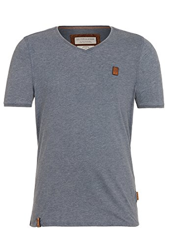 Naketano Herren T-Shirt Schimpanski Iv GreyGrey