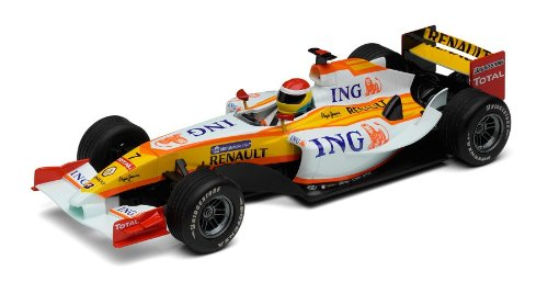 Hornby France - Scalextric - C2987 - Circuit - Voiture - F1 Renault Fernando Alonso 2009