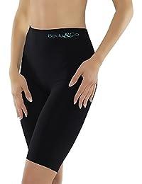Body&Co Deportivo corto con fibra de Emana que activa la microcirculación, adelgazamiento, para piernas pesadas, tonificación