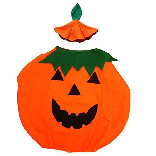 Ouken Halloween-Kürbis-Kostüm-reizendes Halloween-Kleid Kreative Kürbis-Form-Entwurfs-Kostüm-Multi-Funktions-Cosplay-Kostüm-Ausstattung für (Kreative Kostüm Für Erwachsene)