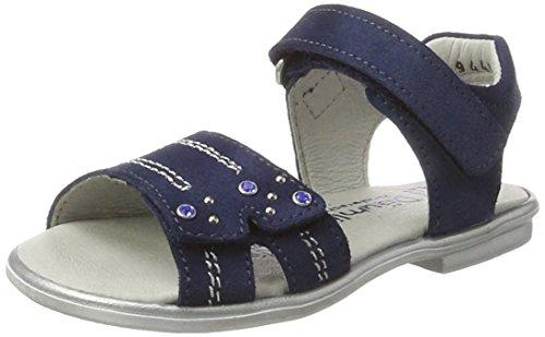 Däumling Mädchen Rosina Sandalen, Blau (Turino jeans42), 37 EU