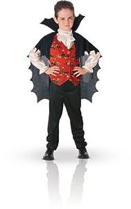 Disfraz de Conde Drácula para niño, infantil 8-10 años (Rubie