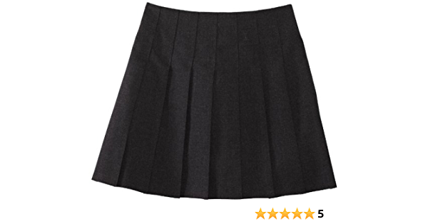Trutex Limited Girls Stitch Down Plain Skirt Manufacturer Size: W24//L18 Black 12 Years