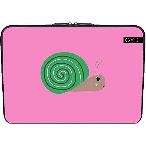 neopren-huelle-netbook-laptop-101-inch-nette-grune-schnecke-by-ilovecotton