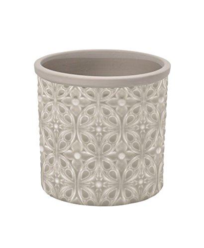 Burgon & Ball Keramik Blumentopf Porto D14cm Sand