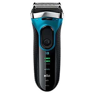 Braun Series 3 3080 Men's Electric Foil Shaver Wet and Dry Rechargeable and Cordless Razor