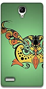 The Racoon Lean printed designer hard back mobile phone case cover for Xiaomi Redmi Note Prime. (Hypnoowl G)