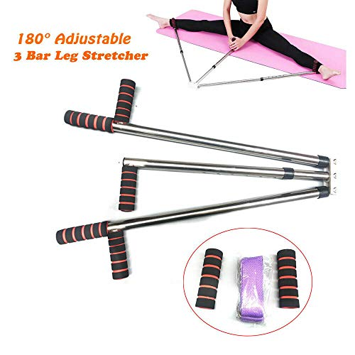 TABODD Leg Extension Machine Flexibilität Ausbildung Split Legs Ligament Stretcher, Schlagpolster Beinspreizer Metall