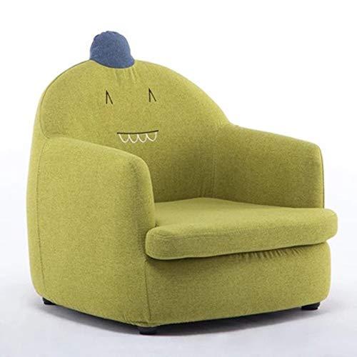 LMCLJJ Kinder Recliner Sofa Kinder Zeitgenössische Sessel Deluxe Gepolsterte Rückenlehne für Kleinkinder Jungen Mädchen Kleine Sofa Stuhl kinder sofa stoff cartoon form leicht zu reinigen weiche kinde (Kleinkind-mädchen-recliner-stuhl)