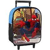 Atosa 17081–Spiderman–Mochila con ruedas, 34x 24x 12cm