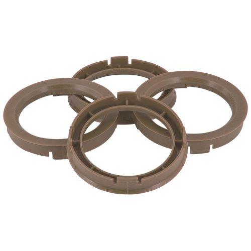 TPI BX7016660-4 Satz Zentrierringe für Radnabe, 70,1-66,6mm, Grau