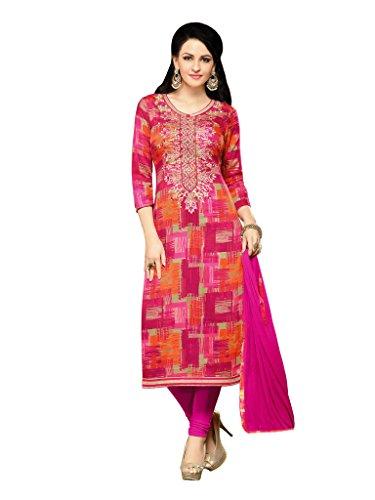 Applecreation Women'sCotton Silk Dress Material salwar suit (Multi-Coloureddress materials for women KIL74017_28)