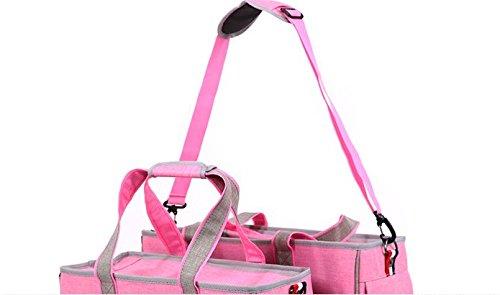 BENWEI Classics Pet Carrier,Portable Dog Cat Handbag Outdoor Soft Sided Pet Shoulder Bag Foldable Travel Tote,Under Seat… 7