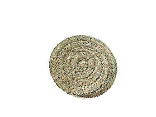 Artesanía Jacinto Luque Amfombra de Esparto de 60cm diametro