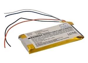 Batterie pour Microsoft Zune 80GB, 3.7V, 400mAh, Li-PL