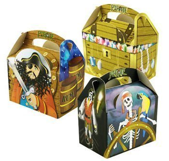 0 supplied Fill with Party Food or Pirate Party Bag Fille... (Captain Hook Party Supplies)