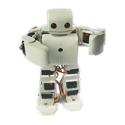 HARLT Humanoid Robot Kit Plen2 für Arduino 3D-Drucker Open Source plen 2 für WiFi Kontrolle DIY Roboter-Abschluss-Lehr-Modell Spielzeug,Schwarz