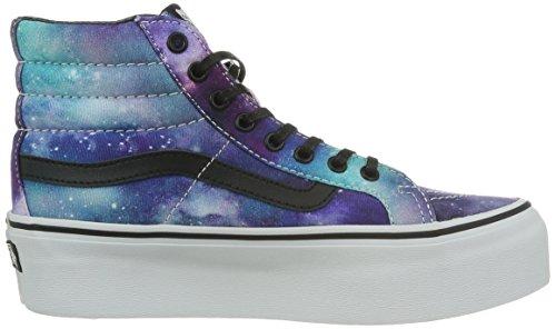 Herren Sneaker Vans Sk8-Hi Platform Sneakers (cosmic galaxy) black