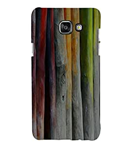 printtech Wood Color Abstract Back Case Cover for Samsung Galaxy A7 (2016)