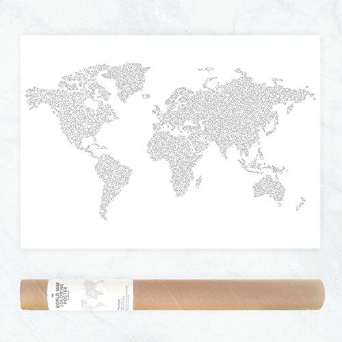 mundo-mapa-crculos-pgina-para-colorear-el-patrn-de-puntos-colorear-para-adultos-pster-de-gran-tamao-