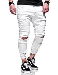 66434768f5772 MT Styles style Destroyed Jeans pantalon homme JN-3605