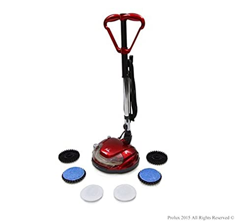 Prolux Hard Floor Cleaner Polisher Buffer Hardwood Grout Tile Scrubber