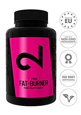 Dual Pro Fat Burner | Fatburner Pills Without Sports | Complex | Fat Burner Extremely Strong Woman And Man | Fat Burner For Men And Women | Natural Weight Loss | Slimming Diet Pills | Vegan & Gluten-free | Without Caffeine | 100 Vegan Capsules | 100% Sati