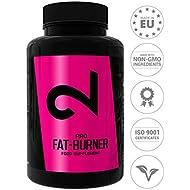 Dual Pro Fat-Burner | Fat Loss Pills for Weight Loss Without Sports | Strong Weight Loss Pills| Natural Slimming Diet Pills | Vegan Fat Loss Supplement Without Caffeine | 100 Vegan Capsules