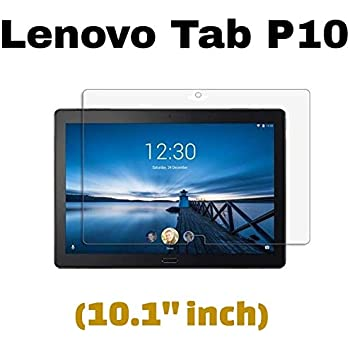 """M.G.R.J® Tempered Glass Screen Protector for Lenovo Tab P10 Tablet (10.1"""" inch)"""