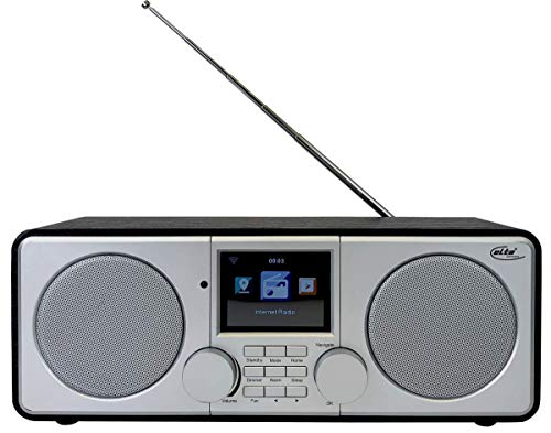 Elta WLAN und Internet Radio DAB-9000 IR (Stereo, DAB Plus, UKW, Wecker, USB 3.0, Farb-LCD-Display) - Farb-lcd