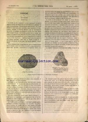 SCIENCE POUR TOUS (LA) [No 51] du 16/12/1876