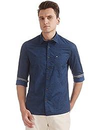 Arrow Sports Men's Printed Slim Fit Casual Shirt