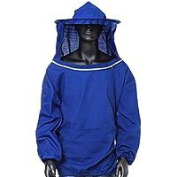 Mayoung Beekeeping - Chaqueta de protección para Abejas (Transpirable), Azul