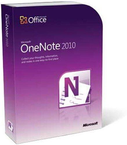 Microsoft OneNote 2010 - 1PC/1User (Microsoft Onenote 2010-software)