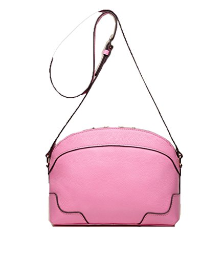 PACK Borse In Pelle Borsa Portafogli Portatile Messenger Bag Borsa Messenger Borsa High-end Moda Retro Sweet Sweet Colors Scratch,B:Pink B:Pink