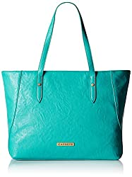 Caprese Cathrine Women's Tote Bag (Turquoise)